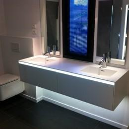 Bricoler la lumière d'une salle de bain ?