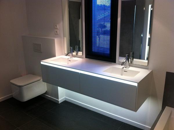 Bricoler la lumière d'une salle de bain