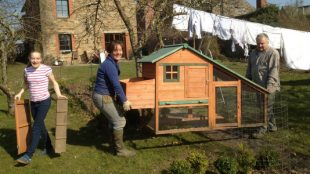 Comment construire un beau poulailler petit prix for Installer un poulailler dans son jardin